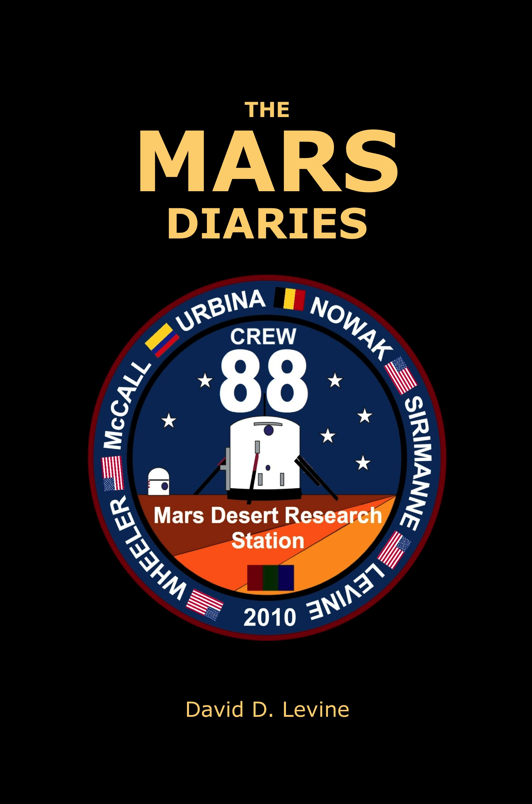 The Mars Diaries cover