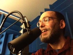 David at the mic
